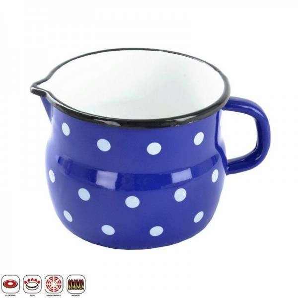 Молочник Ретро 1,2 л синий