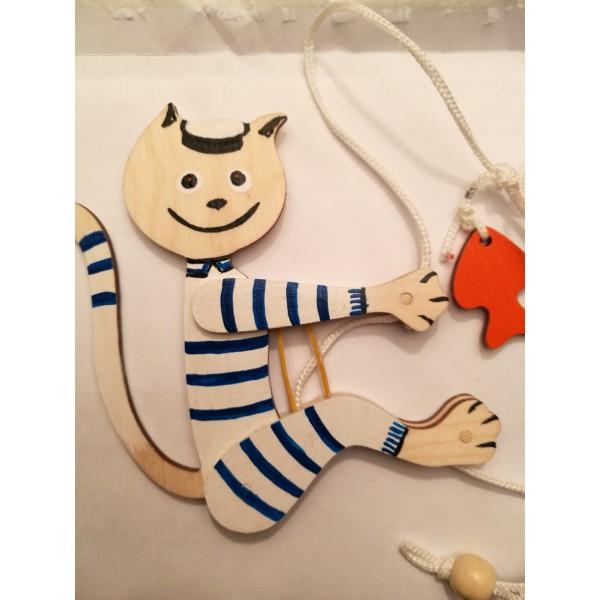 Игрушка Котик-моряк
