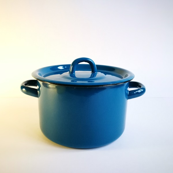 Кастрюля 2л синяя