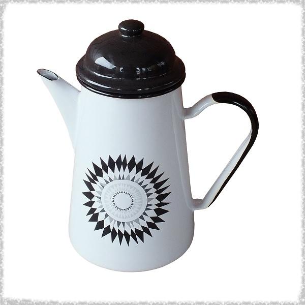 Кофейник 1.0л белый